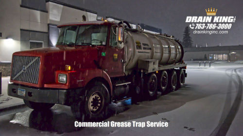Drain King Grease Recycling Truck